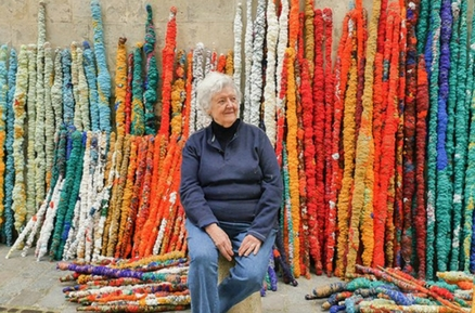 Sheila Hicks, l'art du textile