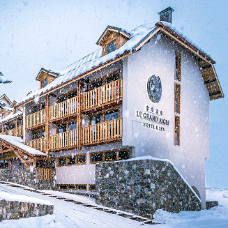Le Grand Aigle Hotel & Spa****   - Serre Chevalier