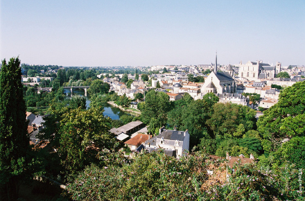 Vue panoramique, Poitiers
